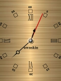 simple flash clock