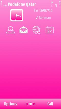 Simple Pink Theme