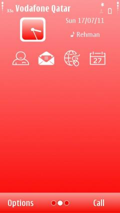 Simple Red Theme