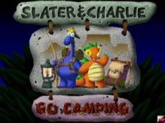Slater and Charlie Go Camping