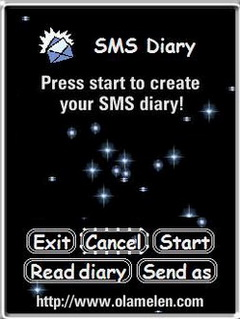 SMS Diary for UIQ