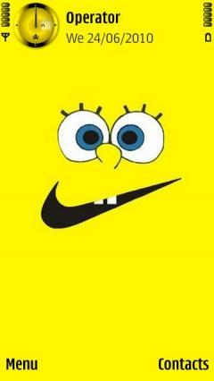 Sponge Bob Vs Nike