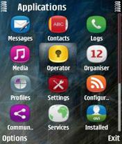 Symbian Anna Icons