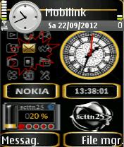 Symbian Clock