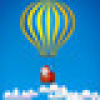 Hot Air Balloon Merry Christmas