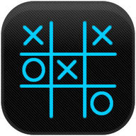 Tic Tac Toe Blue