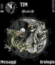 Tiger and Dragon Theme