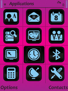 Pink Vector Theme