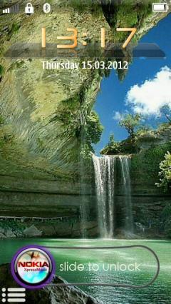 Waterfall Slide 2012