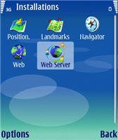 Nokia Mobile Web Server