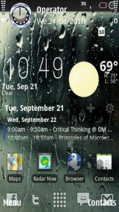 Wet Screen