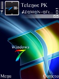 Window 7 Rainbow