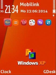 Window xp orange