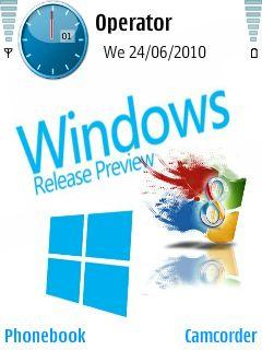 Windows 8 With Icon