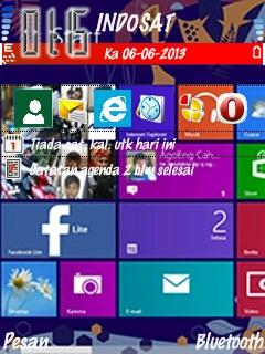 Windows 8 for Nokia 6120 Free Download in Themes & Wallpapers