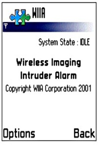 Wireless Imaging Intruder Alarm