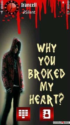 Y U Broke My Heart