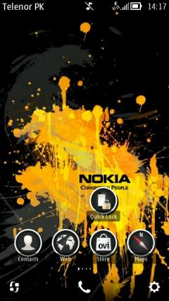 Yellow Nokia